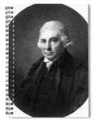 Alexander Monro II, Scottish Anatomist Spiral Notebook