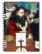 Alfa And Omega Spiral Notebook