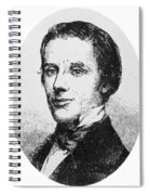 Alfred E. Beach (1826-1896) Spiral Notebook