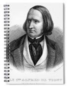Alfred Victor De Vigny Spiral Notebook
