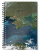 Algal Blooms In The Black Sea Spiral Notebook