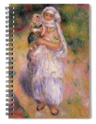 Algerian Woman And Child Spiral Notebook