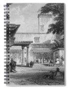 Algiers: Bazaar Spiral Notebook