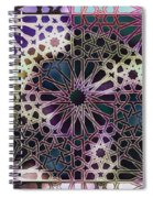 Alhambra Pattern Spiral Notebook