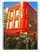 Alice's - London Spiral Notebook