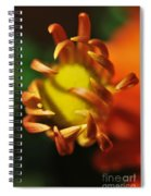 Alien Flower Spiral Notebook