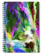 Alien Garden 082012 Spiral Notebook