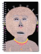 Alien  Lifeform From  Stucco  World  -  One Spiral Notebook