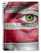 Alive Inside Spiral Notebook