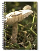 All Alone In The Jungle Spiral Notebook