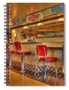 All American Diner 2 Spiral Notebook