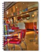 All American Diner 5 Spiral Notebook
