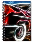 All American Hot Rod Spiral Notebook
