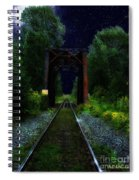 All Down The Line Spiral Notebook