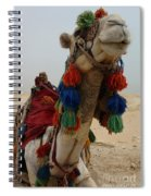 Camel Fashion Spiral Notebook