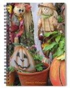 All Hallows Eve Spiral Notebook