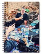 All Saints Day Cemetery Picnic New Orleans Spiral Notebook