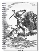 Allegory: July, 1837 Spiral Notebook