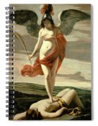 Allegory Of Victory Spiral Notebook