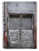 Alley Doors Spiral Notebook
