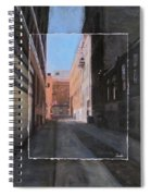 Alley Front Street Layered Spiral Notebook