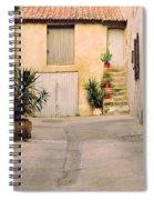 Alley In Arles France Spiral Notebook
