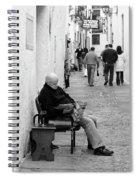 Alley Stop Spiral Notebook