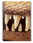Alligator Skull Teeth Spiral Notebook