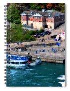 Allll Aboard Spiral Notebook