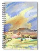Almeria Region In Spain 01 Spiral Notebook