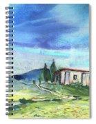 Almeria Region In Spain 02 Spiral Notebook