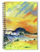 Almeria Region In Spain 03 Spiral Notebook
