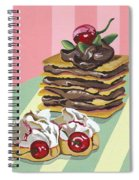 Almond Cake Spiral Notebook