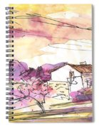 Almond Trees In Spain 02 Spiral Notebook