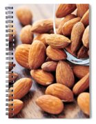 Almonds Spiral Notebook