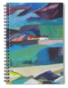 Almost Abstract Painting Spiral Notebook
