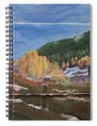 Almost Winter Spiral Notebook