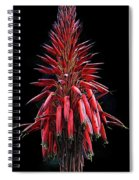 Aloe Flowers Spiral Notebook