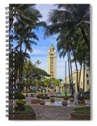 Aloha Tower II Spiral Notebook