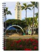 Aloha Tower Spiral Notebook