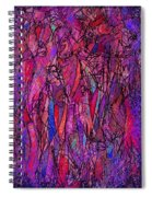 Alone In A Crowd Spiral Notebook
