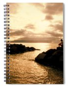 Alone With Your Thoughts Spiral Notebook