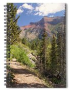 Along St. Mary's Lake Trail Spiral Notebook