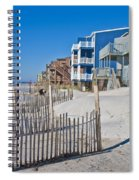 Along The Beach Spiral Notebook