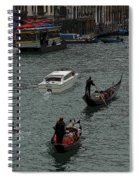 Along The Canal Spiral Notebook
