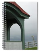 Along The Coast Of Maine IIi Spiral Notebook