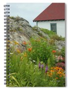 Along The Coast Of Maine Spiral Notebook