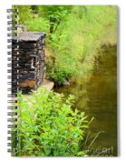 Along The Shallow Water Spiral Notebook