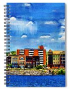 Along The Tennessee River In Decatur Alabama Spiral Notebook
