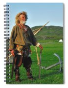 Along The Viking Trail Spiral Notebook
